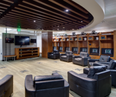 University of Hawaii Football Lockeroom