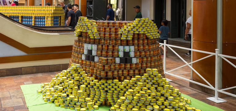 CANstruction 2017 supports the fight against hunger again